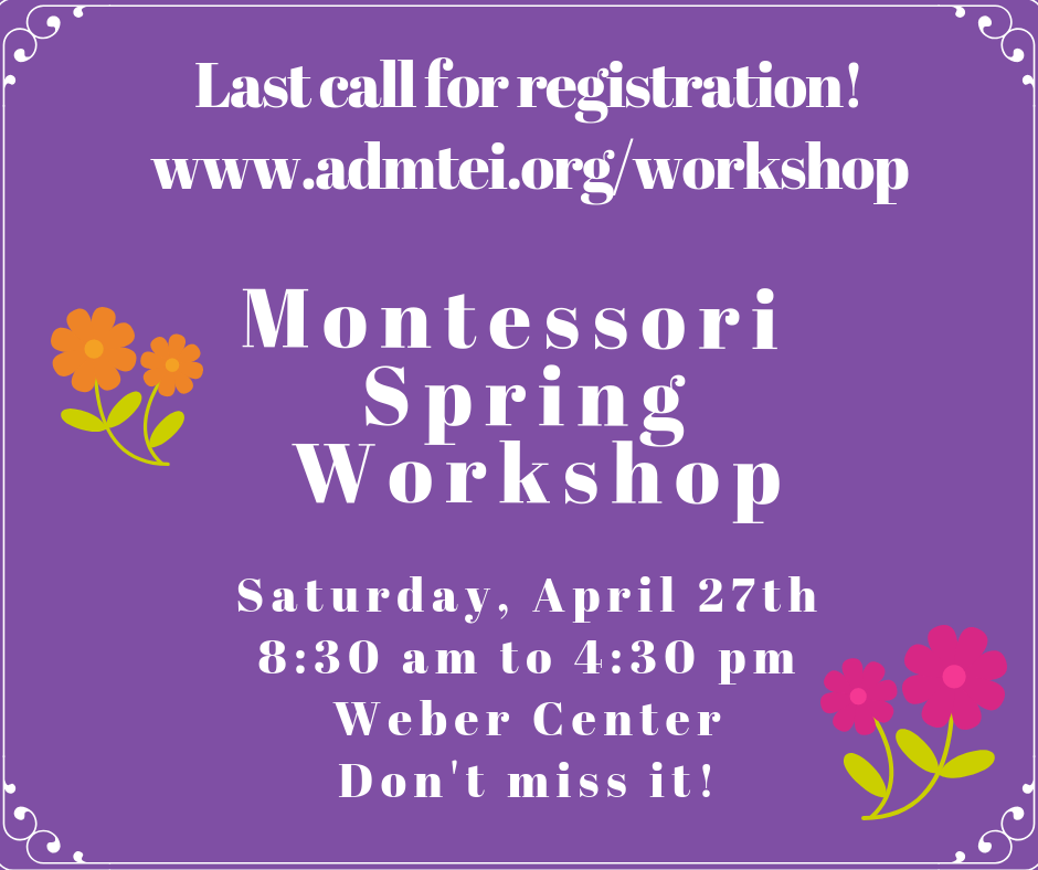 Spring Workshop Saturday