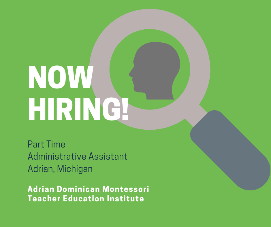 Hiring: Part-Time Administrative Assistant