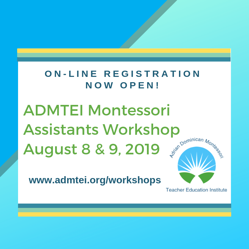 Two-Day Assistants Workshop August 8 & 9, 2019